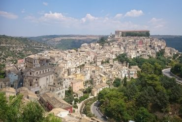 Views over Ragusa Ibla on our Sicily Road Trip