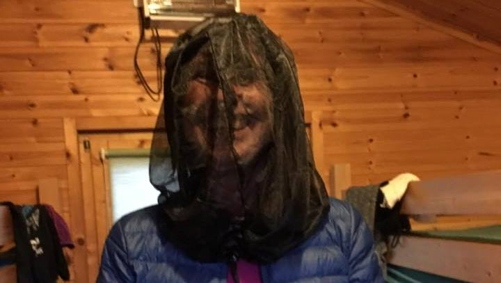 A midge net is really handy on the west highland way