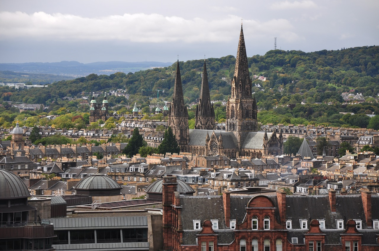 Edinburgh City Centre Skyline