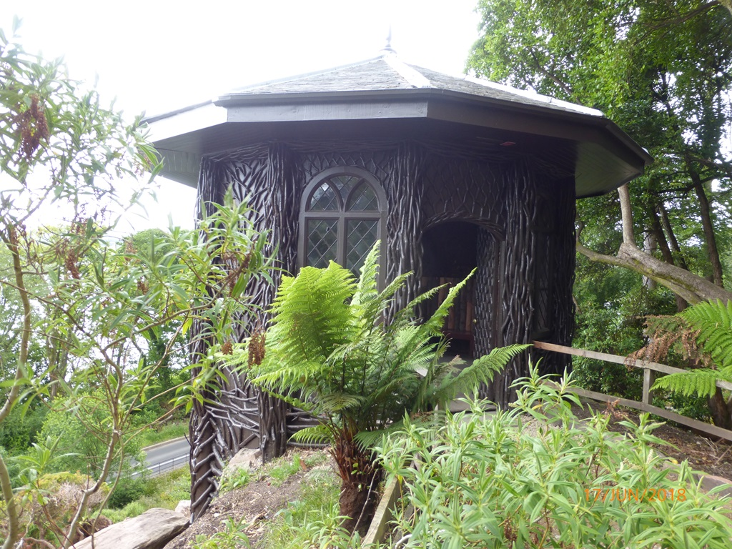 the bavarian hut Brodick Castle
