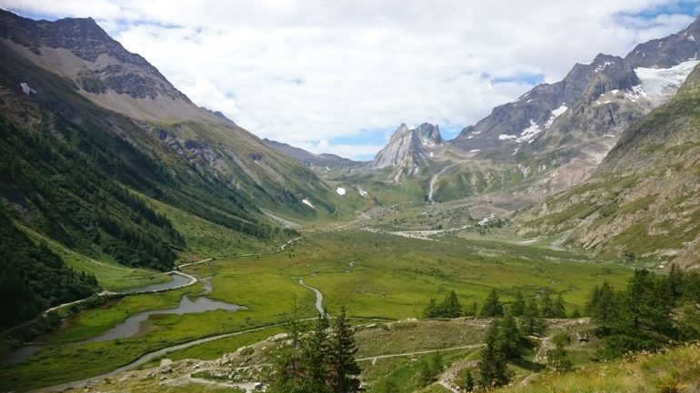 Val veny a perfect place to spot animals like marmots