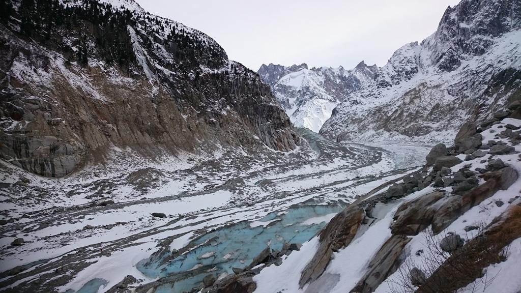 Mer De Glace Glacier