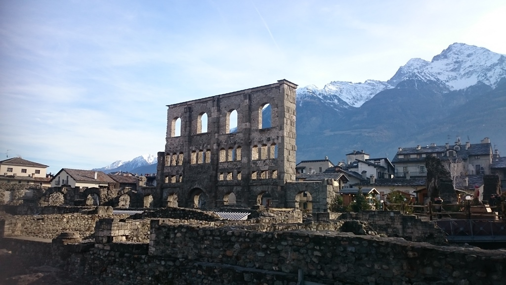 Roman Theatre in Aosta