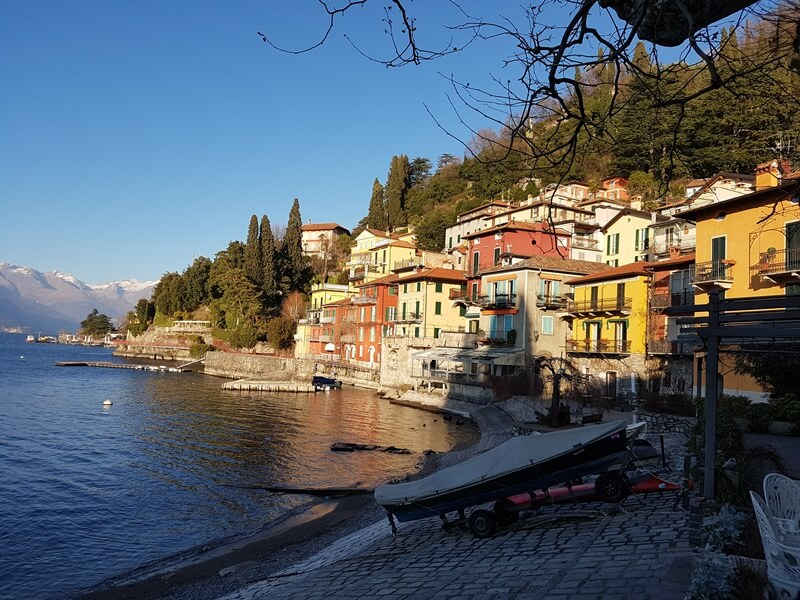 Views back to Varenna