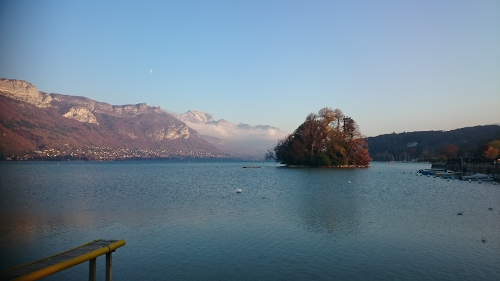 Views over Lake Annecy