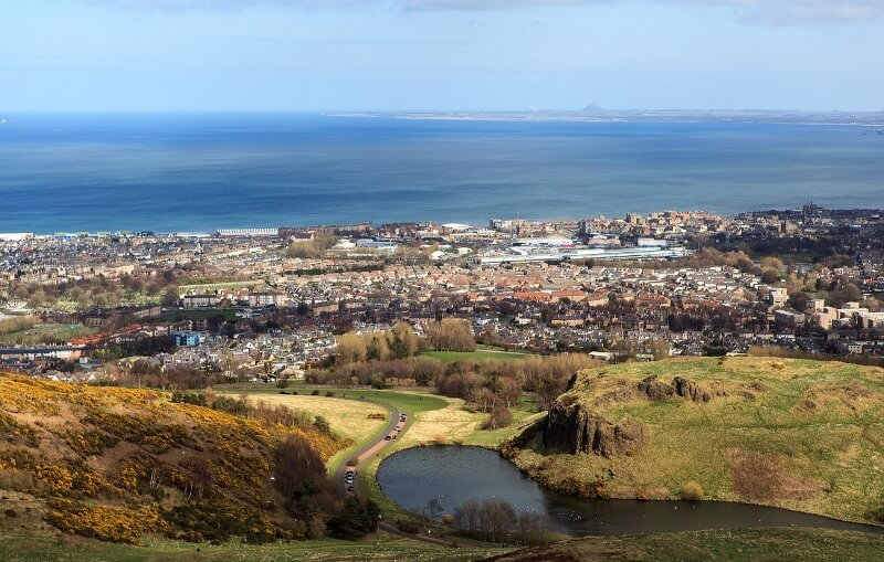 Arthur's Seat Dog Walk Edinburgh