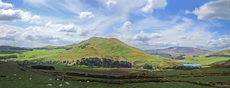 Views over the Pentlands