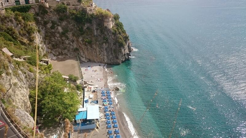 Arienzo Beach Amalfi Coast