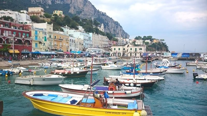 The Marina Grande in Capri