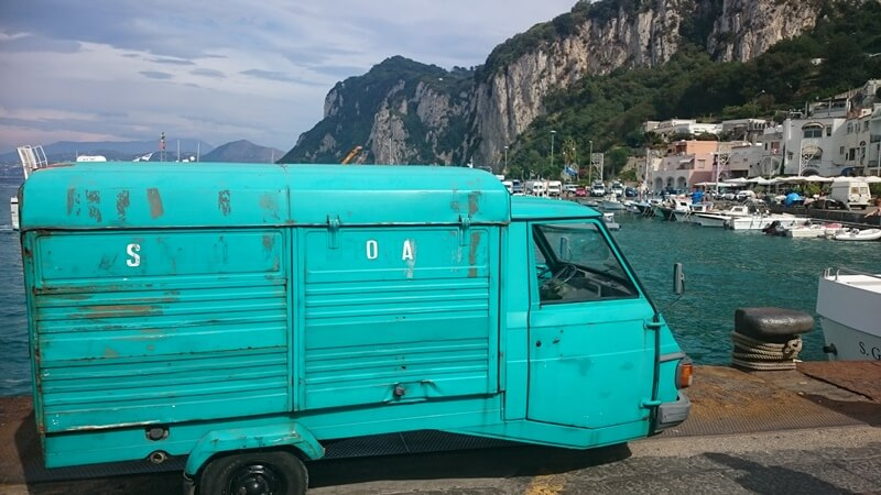 Ape Truck on the Island of Capri
