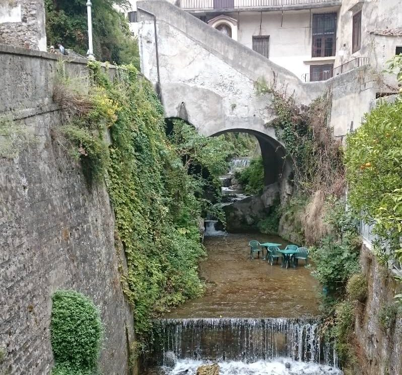 River in Amalfi Town